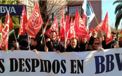 UNITAT CONTRA ELS ACOMIADAMENTS INDISCRIMINATS. UGT PRESENT A LA CONCENTRACIÓ DT SUD SEVILLA