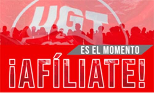Afíliate a UGT